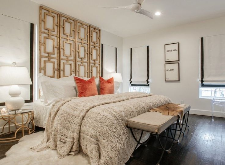 Save More Space with Wall Mounted Headboards - https://midcityeast.com/