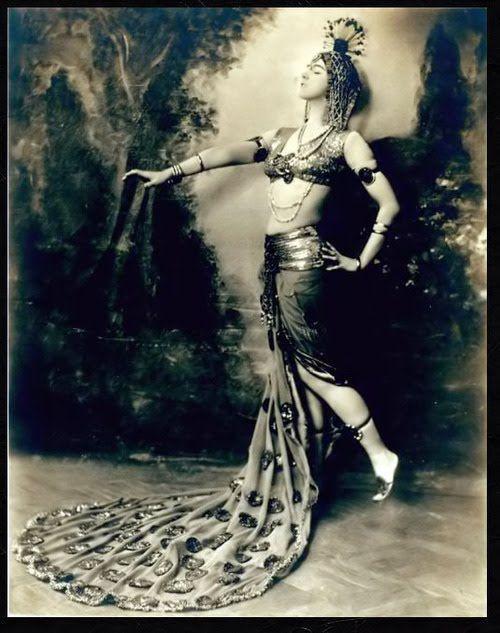 VINTAGE BLOG: Ruth Saint Denis 1915
