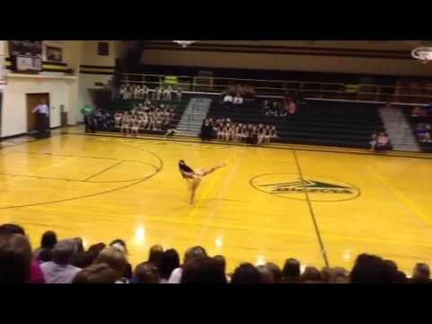 Sierra's Lyrical solo - Beckman High School 2012