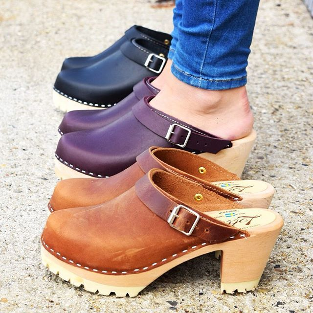 Happy hump day in high clog tractor soles  we looove brown oiled nubuck ones #lovemylottas