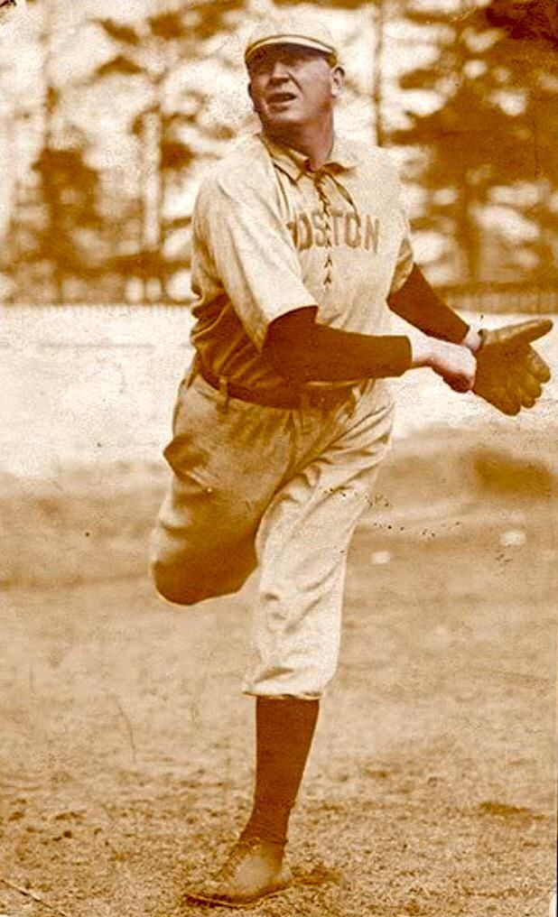 May 5, 1904. Cy Young pitches the American League's first perfect game as the Boston Red Sox defeat the Philadelphia Athletics, 3-0.
