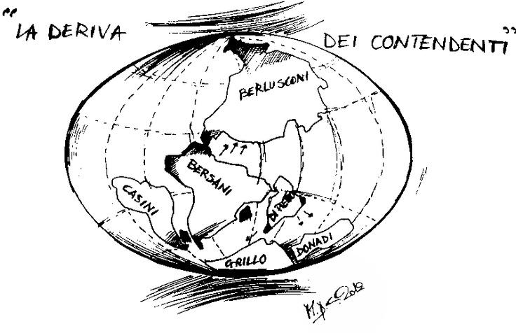 #VIGNETTA: La deriva dei contendenti, #elezioni italiane