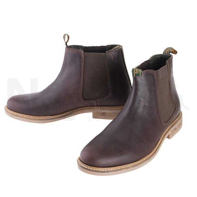 Barbour Mens Farsley Boots Brown