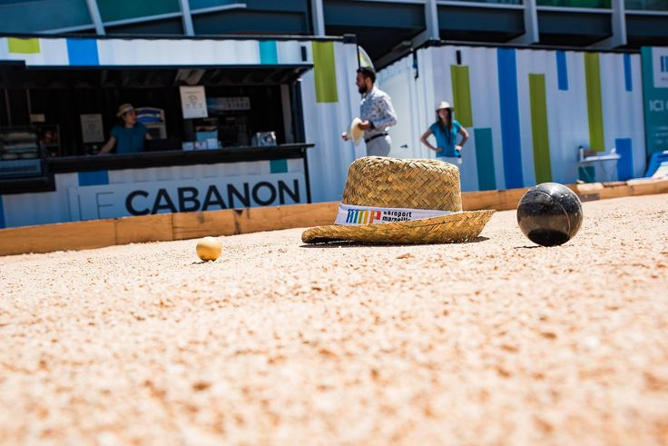 L'aéroport Marseille-Provence ouvre une terrasse avec bar et pétanque