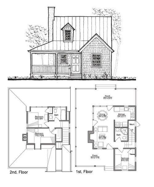 Sheldon Designs   Building Plans For Cabins, Cottages, Barns, And Sheds    Tiny House Design