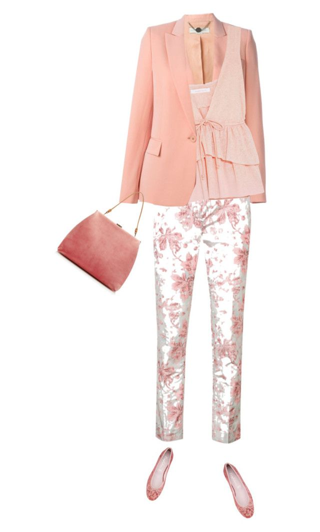 Floral Pink by carolinez1 on Polyvore featuring polyvore fashion style STELLA McCARTNEY Brock Collection See by Chloé Mansur Gavriel clothing