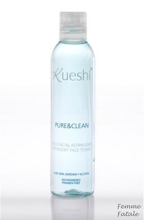 Kueshi  Για Μικτά - Λιπαρά 200ml.Στυπτική λοσιόν καθαρισμού η οποία εξισορροπεί την λιπαρότητα στις προβληματικές περιοχές του προσώπου. Ενυδατώνει και απαλύνει το δέρμα στα σημεία που χρειάζεται. Περιέχει οινόπνευμα το οποίο προσφέρει φρεσκάδα και τόνωση σε βάθος. Ιδανική για μικτές και λιπαρές επιδερμίδες.Χρήση: εμποτίζετε λίγο βαμβάκι με τη λοσιόν και το περνάτε ταμποναριστά σε όλο το πρόσωπο. Δεν ξεβγάζεται.Τιμή €8.50