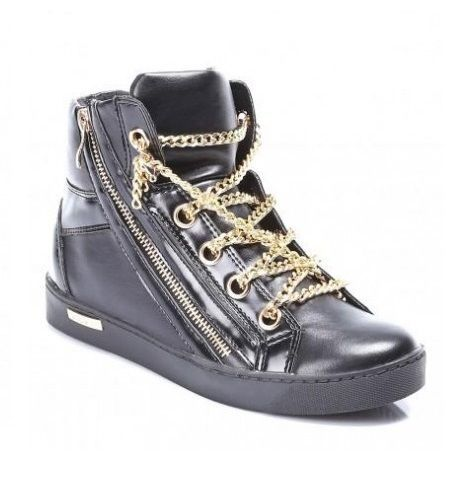 NEW WOMENS HI TOP TRAINERS LADIES  FLAT ANKLE BOOTS  SNEAKER SHOES SIZE 3-7.5 UK