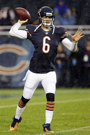 Jay Cutler  This season he seems like he finally starting  to  figure things out on the field.