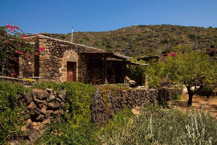 Giardini Pantelleria. Spazi di ampio respiro, un'atmosfera di assoluta tranquillità. Il Dammuso ideale per lunghi soggiorni di relax o di studio.