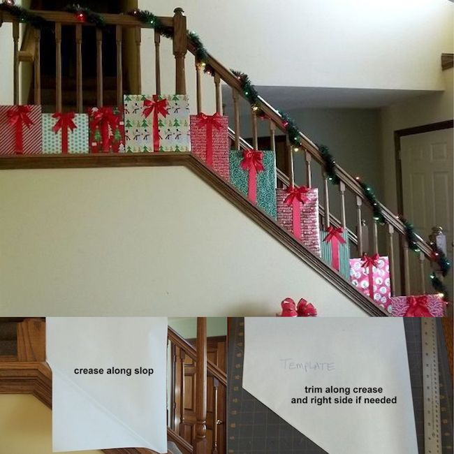 25+ Best Ideas About Christmas Stairs Decorations On