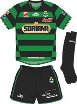 Club Santos Laguna of Mexico away kit for 2003-04.