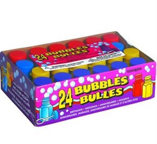 24 Assorted Bubbles and Wands Childrens Party Bag Fillers Birthday Wedding | eBay