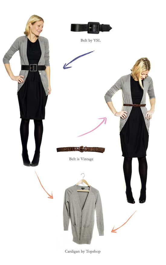 Photo In her latest GOOP newsletter, Gwyneth Paltrow shows off her favorite  Little Black Dresses (LBDs) -- shift dress, classic knee-length dress,  sweater ... - 83 Best Black Dress Images On Pinterest Denim Vests, Casual