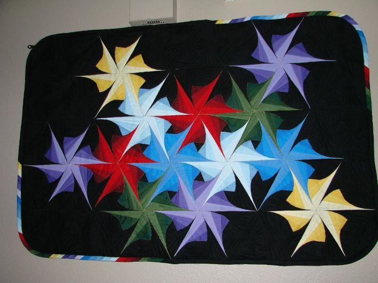 Pinwheel Explosion Quilts Pinterest Quilt Spinning