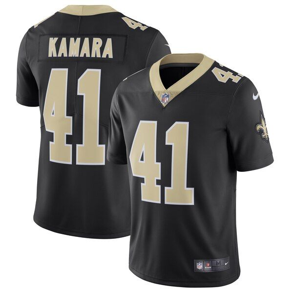 Alvin Kamara New Orleans Saints Nike Vapor Untouchable Limited Jersey Black Neworleanssaints In 2020 Nfl Jerseys