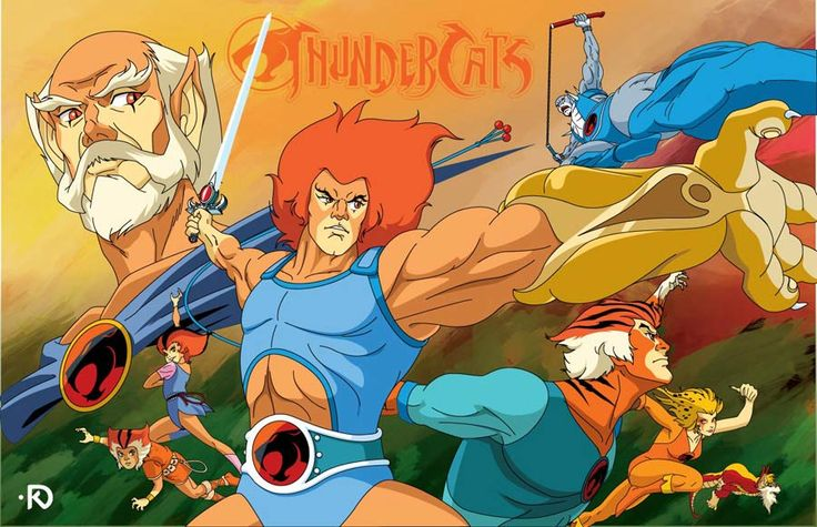 Thundercats!!! wooooooo!!!