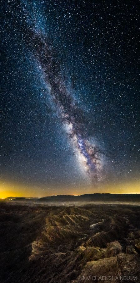 ~~Imperial Galaxy ~ Milky Way, Fonts Point, California by Michael Shainblum~~