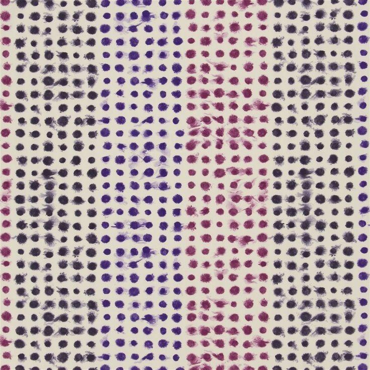 amlapura - damson fabric | Designers Guild