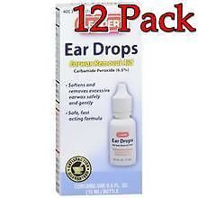 Ear Wax Removers: Leader Ear Wax Remover Drops, 15Ml, 12 Pack 023558076501S217 -> BUY IT NOW ONLY: $50.49 on eBay!