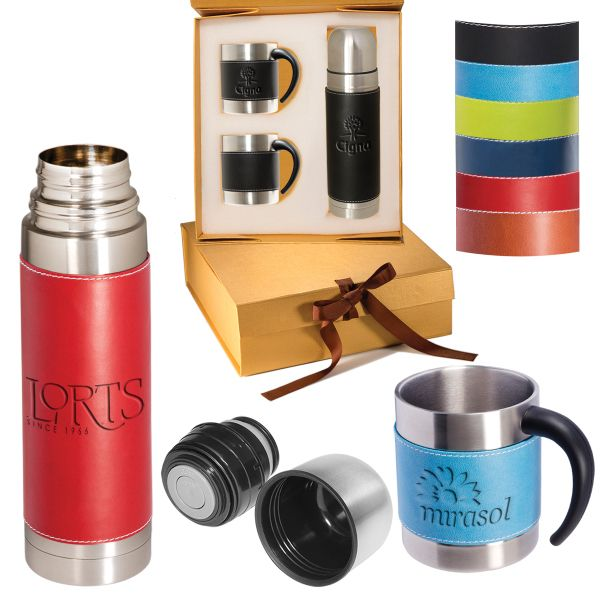 Tuscany (TM) Coffee Cup and Thermos Set