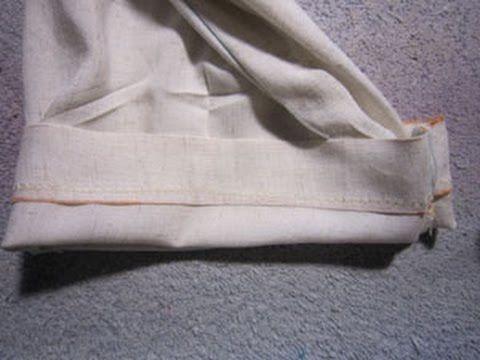 Couture pour debutant(e)s: Coudre un ourlet invisible à la machine : pour vos rideaux et vos ourlets de pantalons