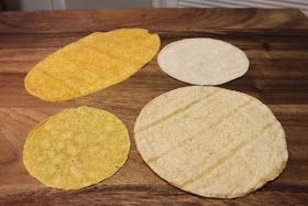 corn tortilla types