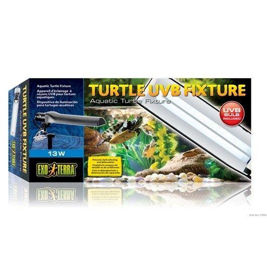 Pantalla Mini Compacto EXOTERRA 11 w La lámpara para tortugas Exo Terra Turtle UVB ha sido especialmente creada para las tortugas acuáticas
