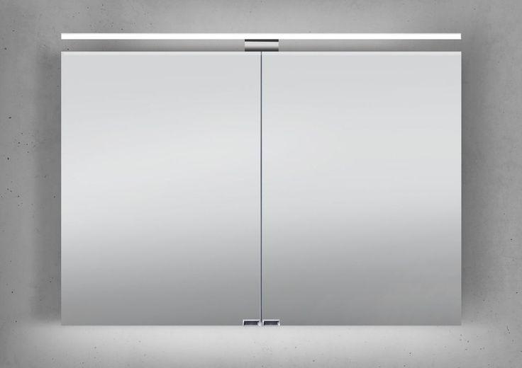 Spiegelschrank 100 cm LED Beleuchtung doppelseitig verspiegelt Jetzt bestellen unter: https://moebel.ladendirekt.de/bad/badmoebel/spiegelschraenke/?uid=e7ef1f2e-f389-51e7-9d53-8e11bc9270d0&utm_source=pinterest&utm_medium=pin&utm_campaign=boards #spiegelschraenke #spiegelschränke #bad #badmoebel