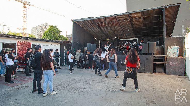 Dementors @ Centro Cultural Hermanos Arellano Moraga, Estación Central, Chile