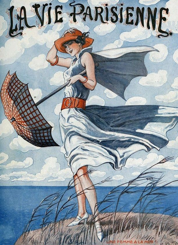 Illustration by George Pavis For La Vie Parisienne July 1923