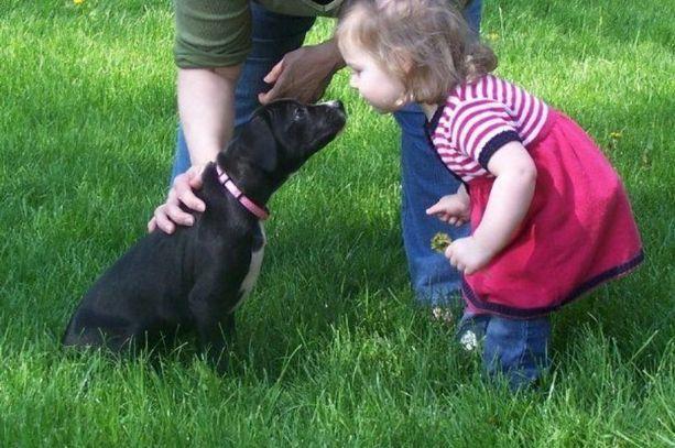 Cute kisses.