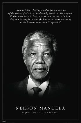 Nelson Mandela - Commemorative | Motivational | Hardboards | Wall Decor | Plaquemount | Blockmount | Art | Inspirational | Pictures Frames and More | Winnipeg | MB | Canada