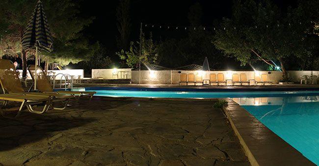 Esperides Hotel's swimming pool in Mirtos, Crete