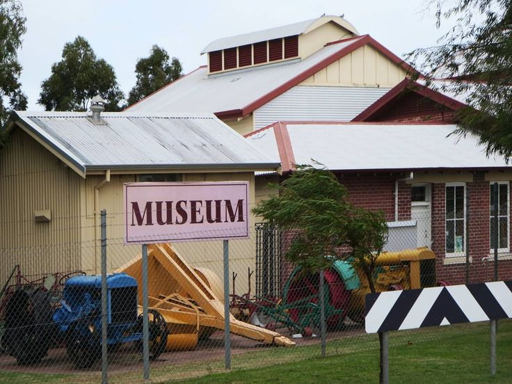 The Busselton Museum occupies an old butter factory (1918) at Busselton, Western Australia.