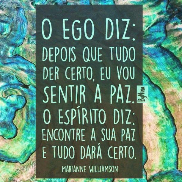 """@instabynina's photo: """"Bom dia! Desejo PAZ, Namaste! #instabynina #frases #citações #ego #espiritualidade #paz #pensenisso #autoconhecimento"""""""