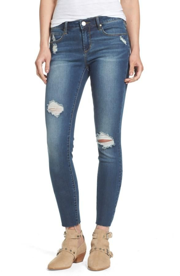Sarah Skinny Distressed Denim From Articles Of Society