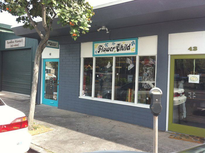 Flower Child - Kailua, HI boutique shop 41 Kihapai St