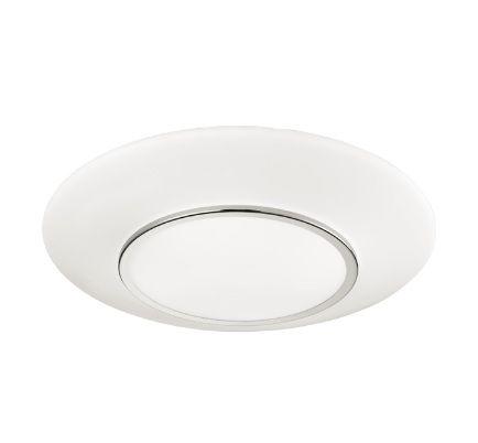 Kourtakis Lighting - Πλαφονιέρα #οροφης από #γυαλι. Σε λευκό χρώμα για να ταιριάζει εύκολα σε όλους τους χώρους. Το σχέδιό της είναι απλό αλλά με μια μεταλλική λεπτομέρεια που την κάνει να ξεχωρίζει. Δείτε λεπτομέρειες: http://kourtakis-lighting.gr/fotistika-orofis-indoor-fotistika-krebatokamaras-fotistika-saloniou-diakosmisi/3697-fotistiko-moderno-orofis-plafoniera-gyali-opal-metallo-60watt-e27-pressione-51785603.html
