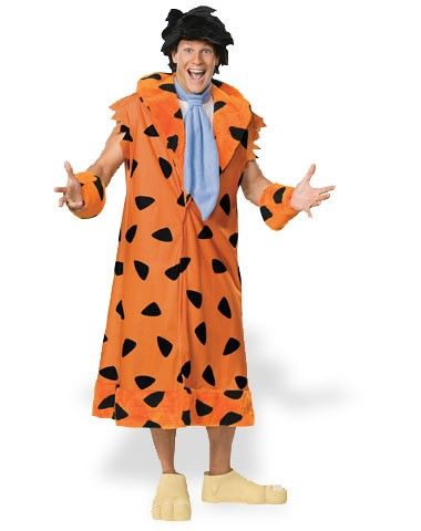 The Flintstones Fred Flintstone Deluxe Adult Mens Costume