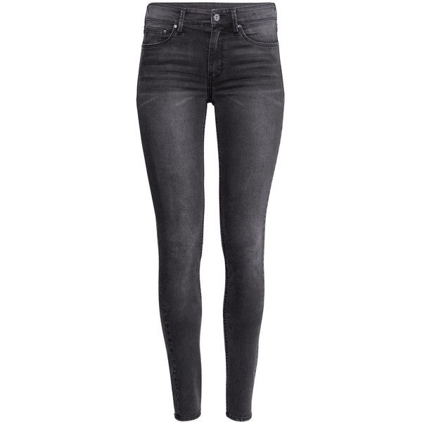 Grey And Black Jeans - Xtellar Jeans