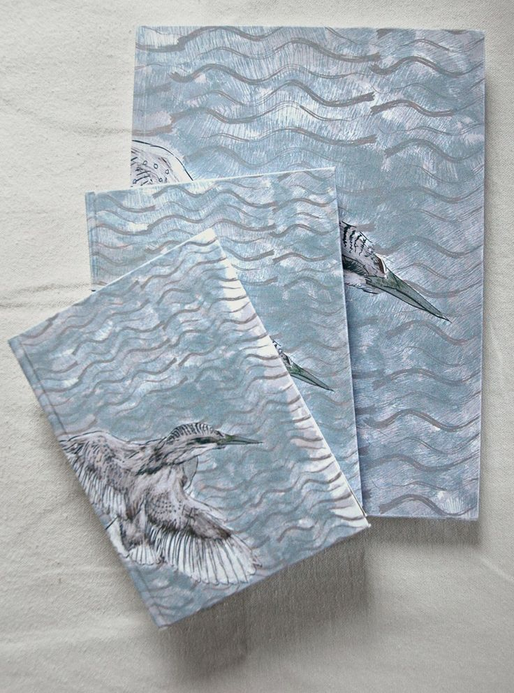 Kingfisher notebooks by Fish without a Bicycle