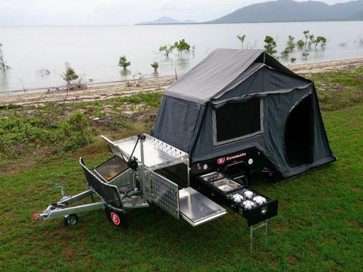 how to set up a stirling ezytrail camper trailer