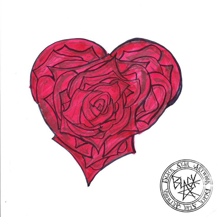 """Lovely Rose"" Drawing on paper Black Star Artwork by Leonard Walsh  www.facebook.com/BlackStarArtwork http://bit.ly/1bCN2xI"