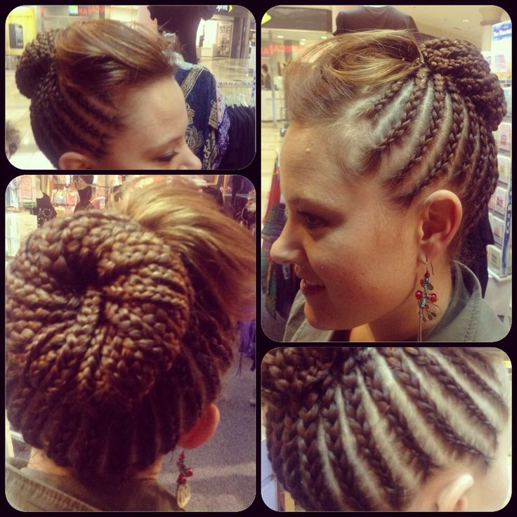 Awe Inspiring White Girl With Braids White Girls And Cornrow On Pinterest Hairstyle Inspiration Daily Dogsangcom