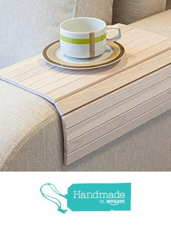 Sofa Tray Table WHITE, Wooden TV tray, Wooden Coffee Table, Lap Desk for small spaces, Wood Gifts, Sofa Arm Tray, Armrest Tray, Couch Tray, Sofa Table, Wood Tray from LipLap https://www.amazon.com/dp/B01K7BOLRE/ref=hnd_sw_r_pi_awdo_SXz7ybAF32ARM #handmadeatamazon