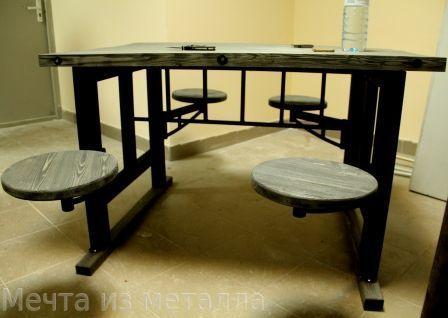 Стол трансформер в стиле лофт
