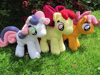My Little Ponies Crochet @Rachel Chartrand