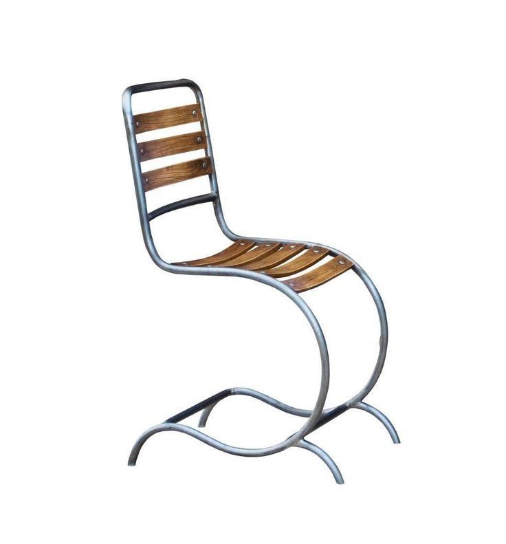 Chaise en m tal fer forg darlington http www - Chaise de jardin en fer ...