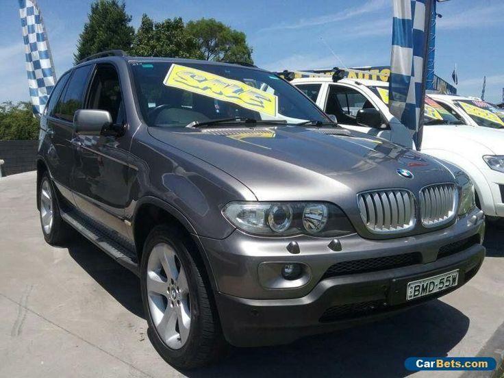 2004 BMW X5 E53 4.4I Grey Automatic 8sp A Wagon #bmw #x5 #forsale #australia